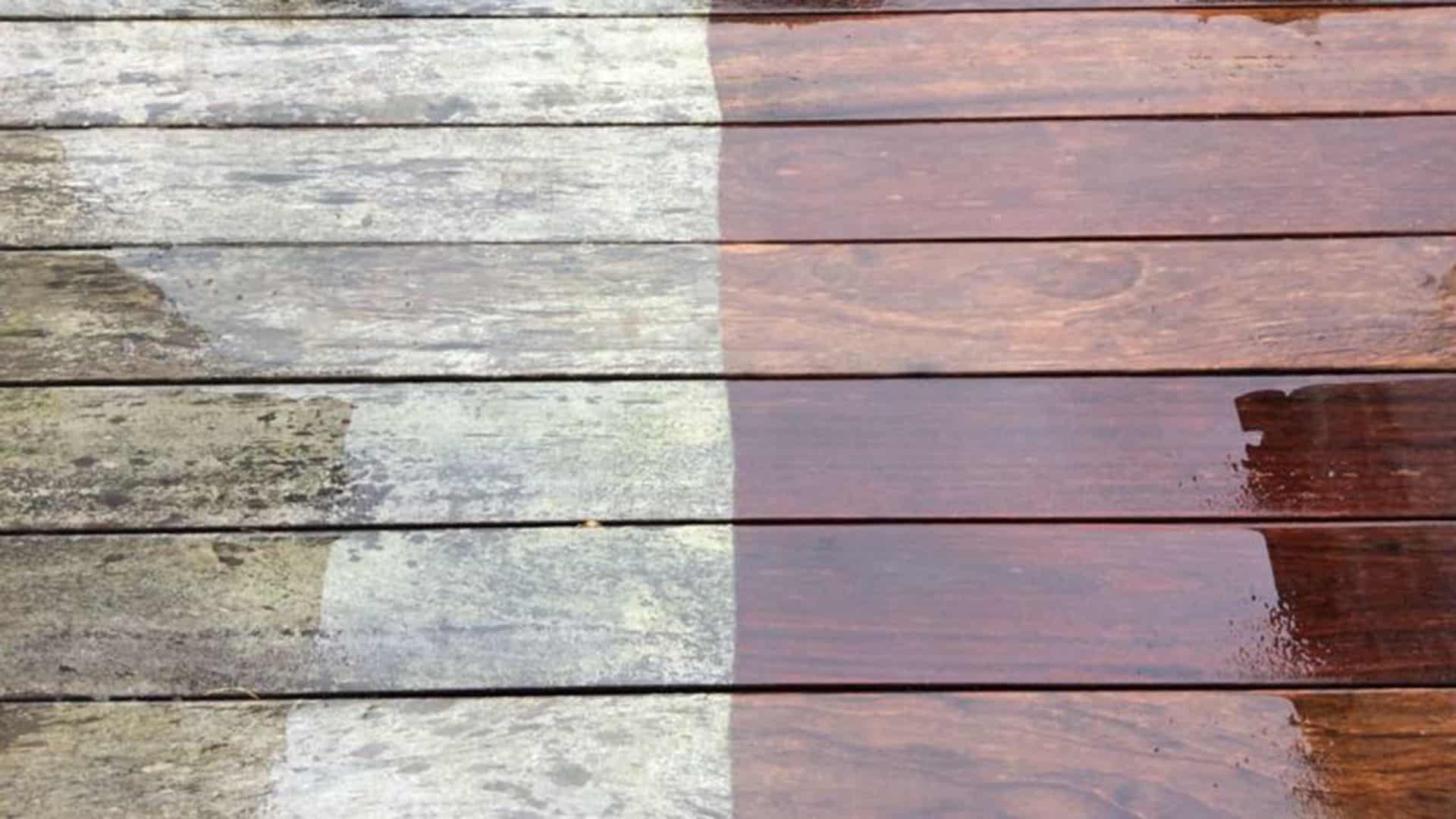 Picture of: Slip For Olien Fa Renset Og Impraegnering Traeterrassen Af Alge Expressen